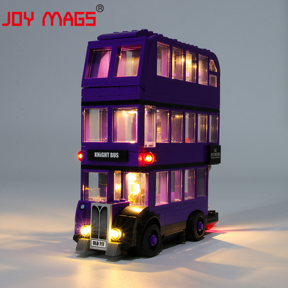 JOY MAGS Only Led Light Kit For The Knight Bus Lighting Set Compatible With 75957 (NOT Include Model)