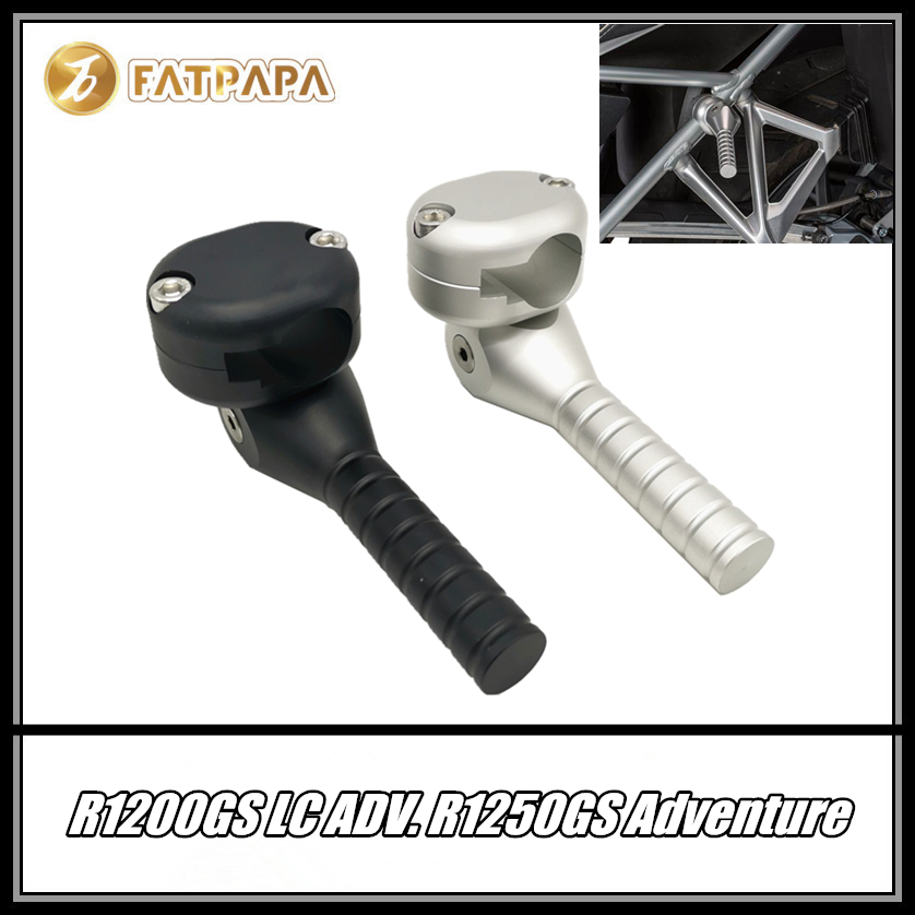 FOR BMW R1200GS R1250GS Adventure LC GSA Body Frame Lifting handle Lever foldable Motorcycle Parts