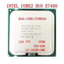 Processor LGA775 Intel-Core Desktop-Cpu 3M Ghz E7400 65W 2 2-Duo Cache TDP TDP