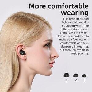Image 3 - Bluedio Fi,หูฟังบลูทูธTWS,หูฟังไร้สาย,APTX,กันน้ำ,ชุดหูฟังกีฬา,หูฟังไร้สาย,หูฟัง,กล่องชาร์จ