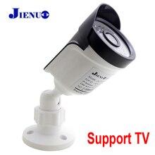 كاميرا تلفزيونات الدوائر المغلقة 1080P دعم للتلفزيون CVBS في الهواء الطلق مقاوم للماء مراقبة الأمن عالية الوضوح الأشعة تحت الحمراء للرؤية الليلية كاميرا منزلية