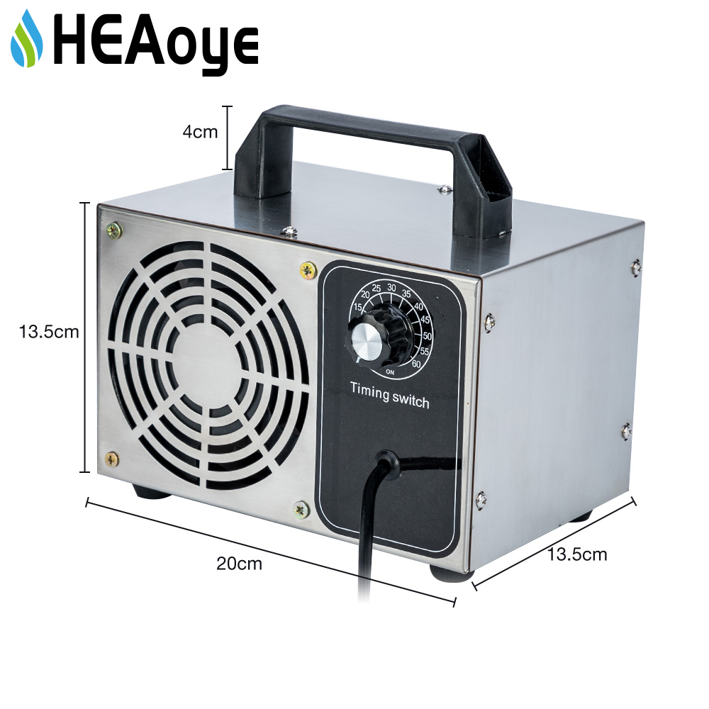 48g/28g Air Purifier Ozone Generator 220v Cleaner Disinfection O3 Ozono Air Ozonizer Sterilization Equipment Oxygen Concentrator