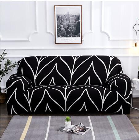 Spandex Sofa Cover All inclusive Stretch Elastic Slipcovers for Living Room Armchair Couch Covers Single Two