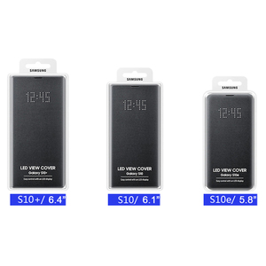 Image 5 - SAMSUNG Original LED View Cover Smart Cover Phone Case for Samsung Galaxy S10 SM G9730 S10X SM G9700 S10 E S10E S10Plus G9750
