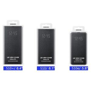 Image 5 - サムスンオリジナルledビューカバースマートカバー電話ケース銀河S10 SM G9730 S10X SM G9700 S10 e S10E S10Plus g9750