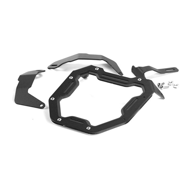 Motorcycle Head Light Mask For Honda Zoomer X110 Headlight Aluminum Alloy Protect Shield Motor Accessories 3