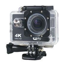 4k Экшн камера ultra hd wifi 16mp 20 дюймов Спортивная go Водонепроницаемая