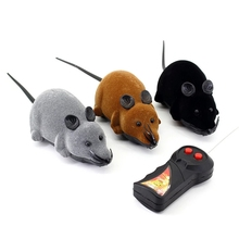 Cat Toy Mouse Wireless Remote Control Cat Mouse Cat Rotating Electric Imitation Mouse Flocking Pet Toy