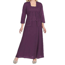 BGW 31021ht Scoop Neck A Line Chiffon Mother Of The
