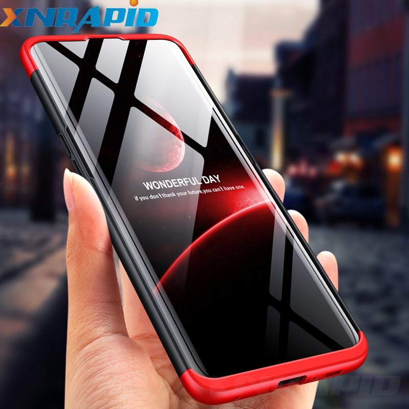 360 Degree Cover For Samsung Galaxy A90 A80 A70 A60 A50 A40 A30 A20 A10 M40 M30S M20 M10 Case 3 in 1 Hard Protection Matte Case