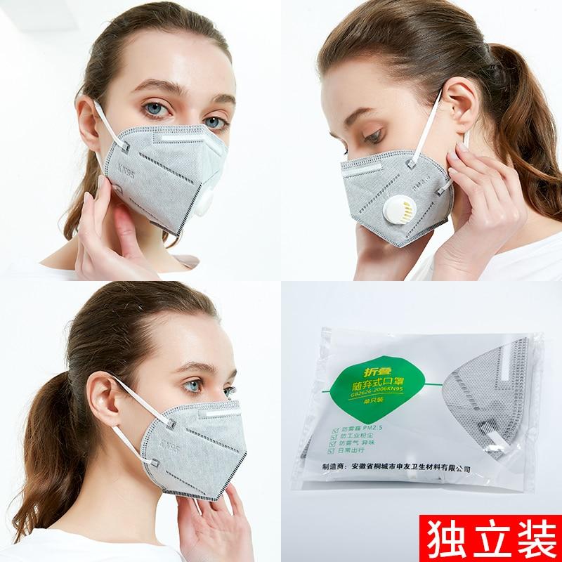 Image 5 - PM2.5 mascarilla coronavirus mouth mask n95 respirator mask face  mask medical masks Anti Odor Smog Safety Protective maska