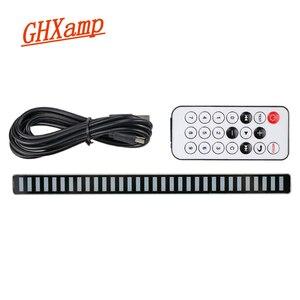 Image 4 - Ghxamp Auto Indicator Multicolor Led Muziek Spectrum 32 Bit Sound Control Home Niveau Lichtbalk Display Voertuig 5  12V