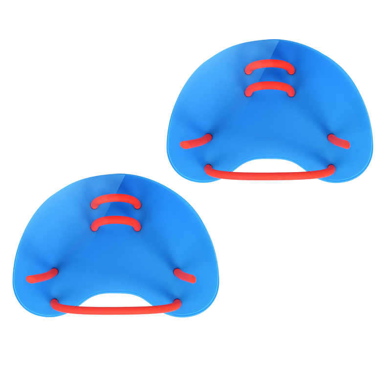 2Pcs  Adjustable PP Web Gloves Diving Training Hand Fin Swimming Paddles Silicone Diving Hand Paddle Webbed Gloves