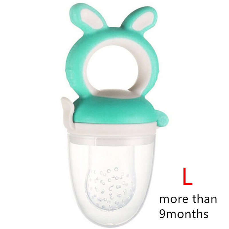Fresh Food Nibbler Baby Pacifiers Feeder Cartoon Rabbit Kids Fruit Feeder Nipples Baby Supplies Nipple Teat Pacifier Bottles Baby & Kids
