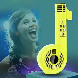 Portátil alto-falante bluetooth sem fio baixo coluna ao ar livre alto-falante microfone karaoke máquina subwoofer estéreo