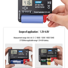 Checkered Button-Cell Display Load-Analyzer Capacity-Tester Lithium-Battery Universal-Test