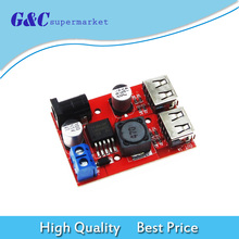 Постоянного тока 9В/12В/24В/36В 5В 3А двойной USB шаг вниз бак модуль питания DIY питания электроники