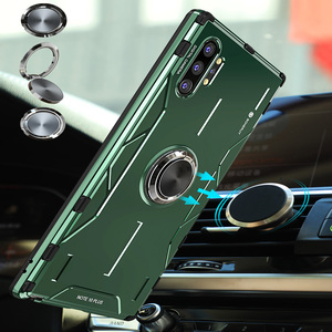 Image 4 - For Samsung Galaxy Note 10 Plus Metal Case Aluminum Alloy Military Armor Ring Stand Case for Samsung Note 10 S10 Plus S20 Ultra