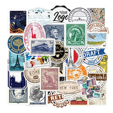 Stamp Laptop-Stickers Decals Notebook for Kids Diary Stationery Waterproof Removable