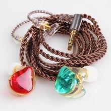FDBRO DIY TD1 Noise Cancelling Harz Kopfhörer Nach Maß Kopfhörer Austauschbare MMCX Kabel Headset Für Shure SE215 SE535 SE846