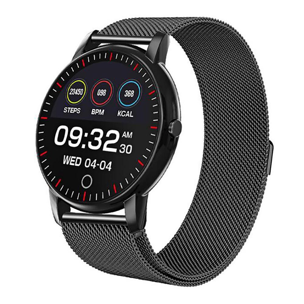 M324 Color Screen 1.08 Inch Heart Rate Blood Pressure Sleep Multi-function Waterproof Sports Smart Watch IP67 Waterproof Unisex