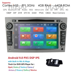 Image 1 - Ips dsp 4g 64g hizpo 2 דין מולטימדיה לרכב נגן אנדרואיד DVD לרכב GPS עבור אסטרה המריבה Zafira corsa ווקסהול Antara vectra 2 דין