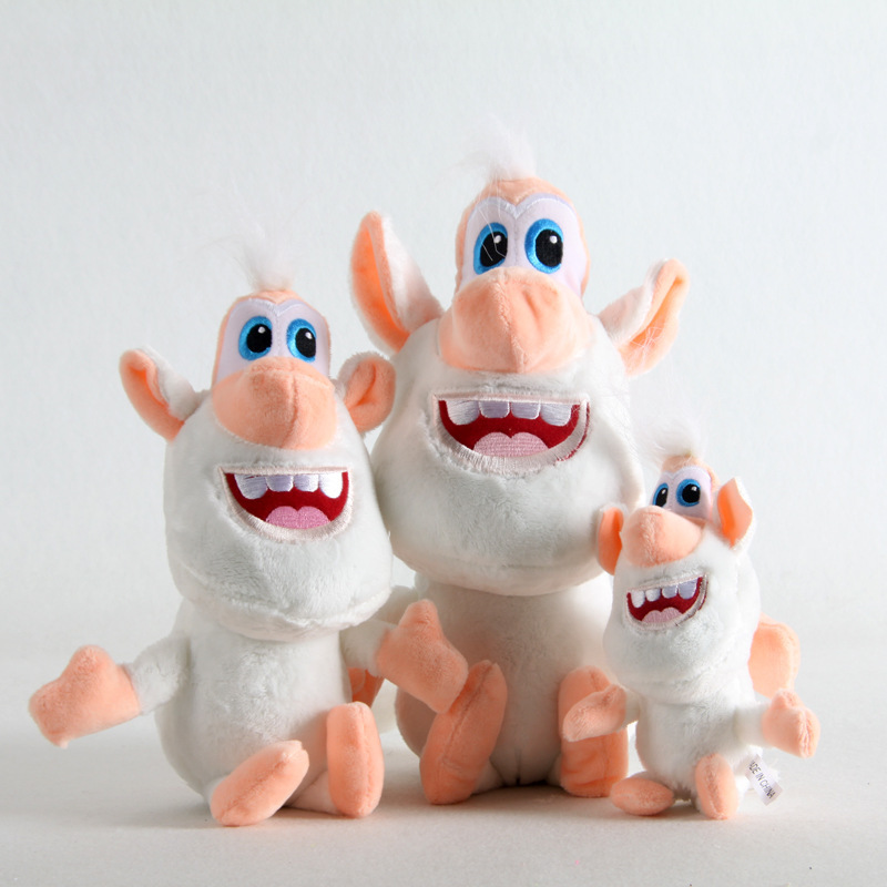 Hot Selling Currently Available Russia Cartoon White Pig Buba Plush Toys Gift Doll Toy(China)