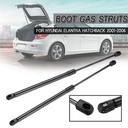 Pair Rear Tailgate Lift Support Gas Struts  For Hyundai Elantra Hatchback 2001 2002 2003 2004 2005 2006 Gas Springs 817712-D200