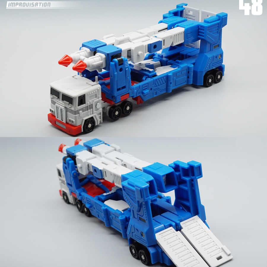 Lensple mft transformação mf48 MF-48 ultra magnus um ver2.0, cidade commander, figura de ação, robô, brinquedos com caixa