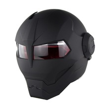 New personality motorcycle robot helmet iron man transformer uncovering
