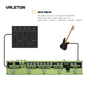 Image 5 - Valetonใหม่Dapper BASS Multi Effects Pedal 6 In 1 Multi Effectเบส,Chorus,Octaver,สกปรกQ & Boost Comp,จูนเนอร์VES 2
