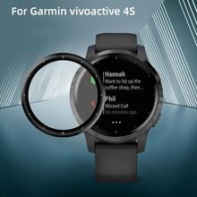 Soft Fibre Glass Protective Film Cover For Garmin vivoactive 4s Full Screen Protector Case For Garmin vivoactive 4s Smart Watch