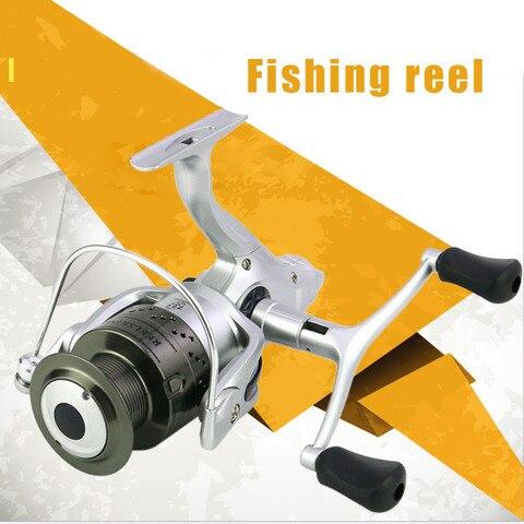 carretel de pesca cabeca de metal roda de pesca fiacao 13 1bb carretel de metal