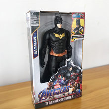 KEINE BOX 30cm Marvel The Avengers Superman Venom Batman Hulk Hawey Die Flash Captain America THOR Falcon Action Figur spielzeug(China)