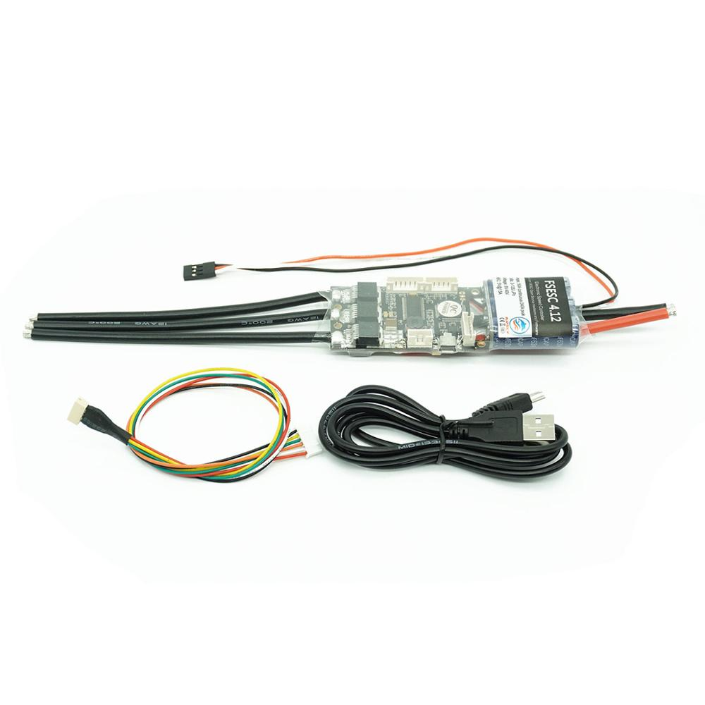 ESC For RC Boat FSESC 4.12 50A Based On VESC® 4.12 Electric Speed Controller For Electric Skateboard Accessories Flipsky