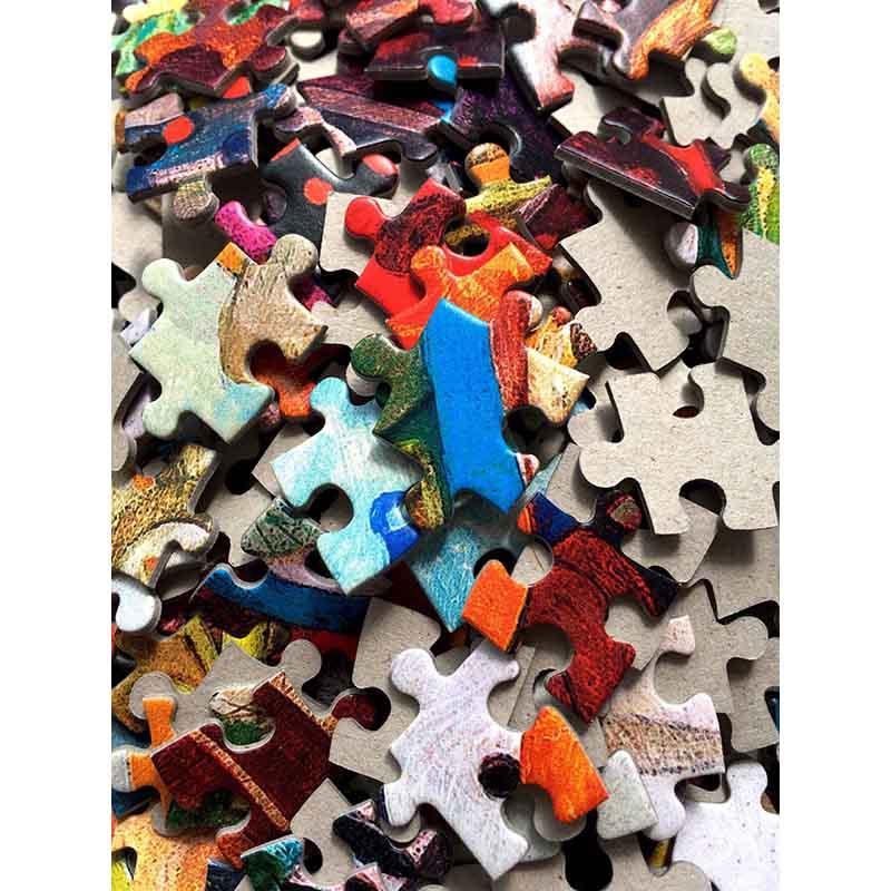 Puzzle 3000 pièces 92x68 cm Puzzle pour adulte shapeng Puzzle enfants jouets cadeau Petrapetosa jouets éducatifs puzzle jeu - 2