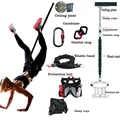 Банджи для фитнеса и тренировок, веревка для йоги, пилатеса, эластичная подвеска, веревка для тренировок