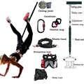 Cuerda de Yoga aérea Bungee para entrenamiento de Fitness y baile, cuerda elástica de suspensión para Pilates, cuerda de entrenamiento