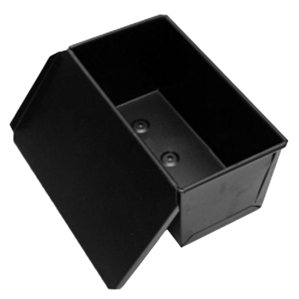 Non-stick Coating Rectangle Bread Loaf Pastry Cake Tin Box Designed with Sliding Lid Baking Pan Bakeware Dropshipping