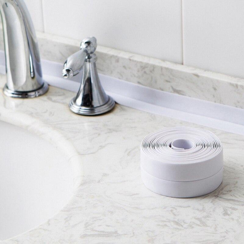 22mm*3.2M Kitchen Mildew-proof Waterproof Tape Kitchen Toilet Sink Gap Filling Seam Sticking Toilet Wall Corner Line Sticking