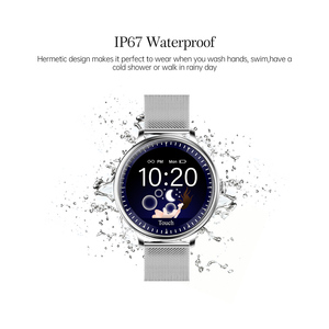 Image 2 - CYUC NY12 Round Screen fashional Stylish Smart Watch Heart Rate Monitor Smartwatch For Girl Compatible For Android and IOS