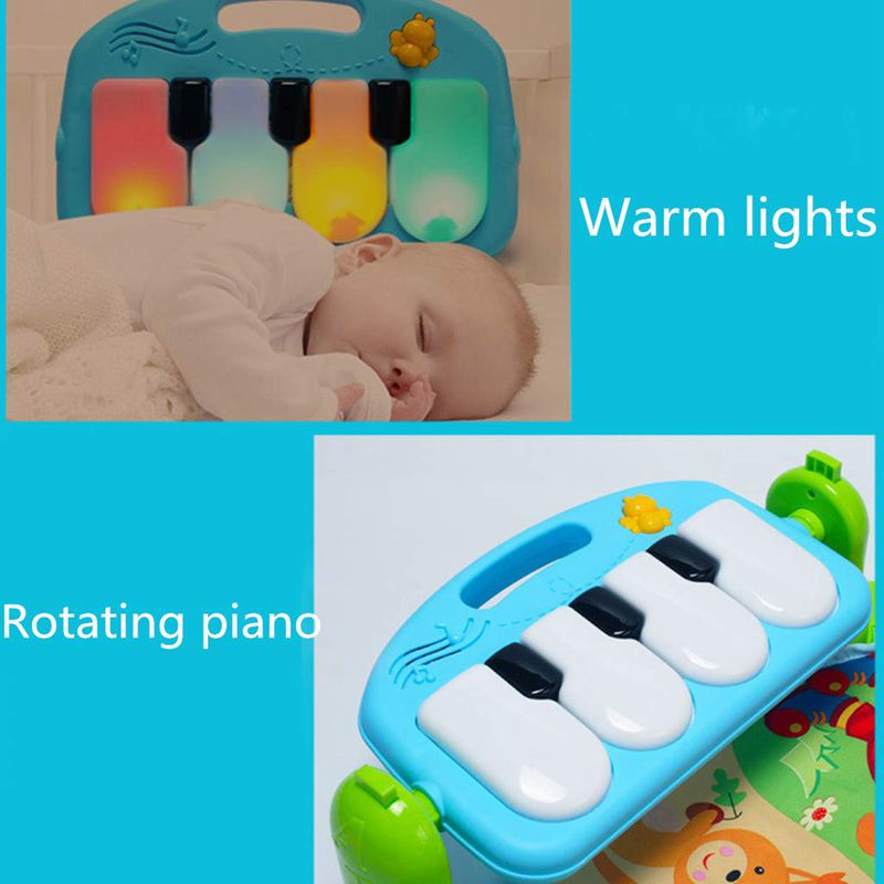 Play Mat Baby Carpet Music Puzzle Mat With Piano Keyboard Educational Rack Toys Infant Fitness Crawling Play Mat Baby Carpet Music Puzzle Mat With Piano Keyboard Educational Rack Toys Infant Fitness Crawling Mat Gift For Kids Gym
