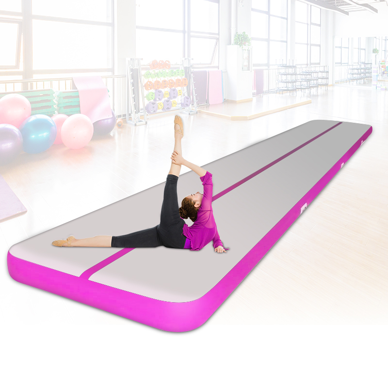 5x1x0.2m Inflatable Airtrack 5M Inflatable Gymnastics Air Track Mats With Pump Yoga Home Use Tumbling Track/Bouncing Mattress