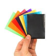 100 개/대 매트 스크럽 보드 게임 카드에 대 한 Muticolor 다시 카드 수호자 tcg에 대 한 Yugioh 카드 슬리브