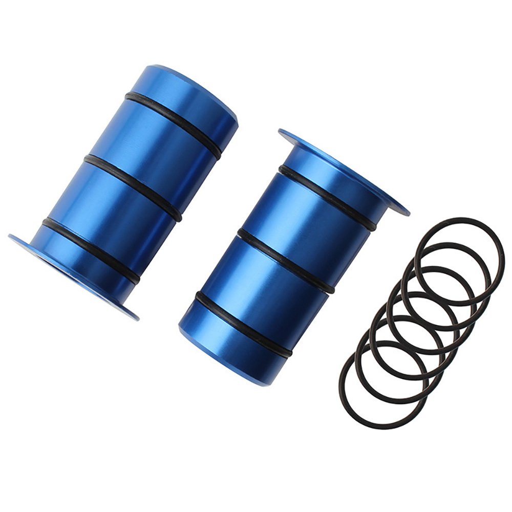 1 Pair Mountain Road Bike 15mm Conversion 12mm Flower Drum Front Barrel Shaft Side Cover Seat/Set Disc Brake Conversion|Bicycle Hubs| |  - title=