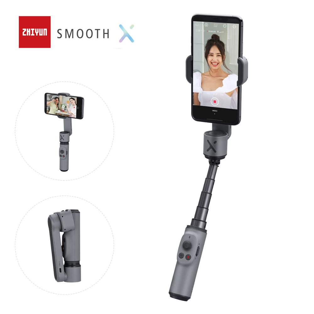 ZHIYUN Official SMOOTH X Handheld Phone Gimbals Selfie Stick Stabilizer Palo Smartphones for iPhone Xiaomi Huawei Redmi Samsung