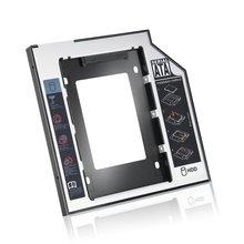 Универсальный 2,5 2nd 9,5 мм Ssd Hd SATA жесткий диск HDD Caddy адаптер отсек для Cd Dvd Rom Оптический отсек
