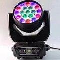 Zoom de lavado led 19x15w rgbw Luz de cabeza móvil zoom cabeza móvil nueva luz de lavado de cabeza móvil