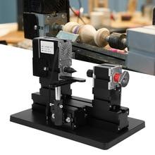 AC 100-240V Metal Wood Turning Lathe TZ20003MB 60W Metal Wooden Lathe For Engineering Plastics