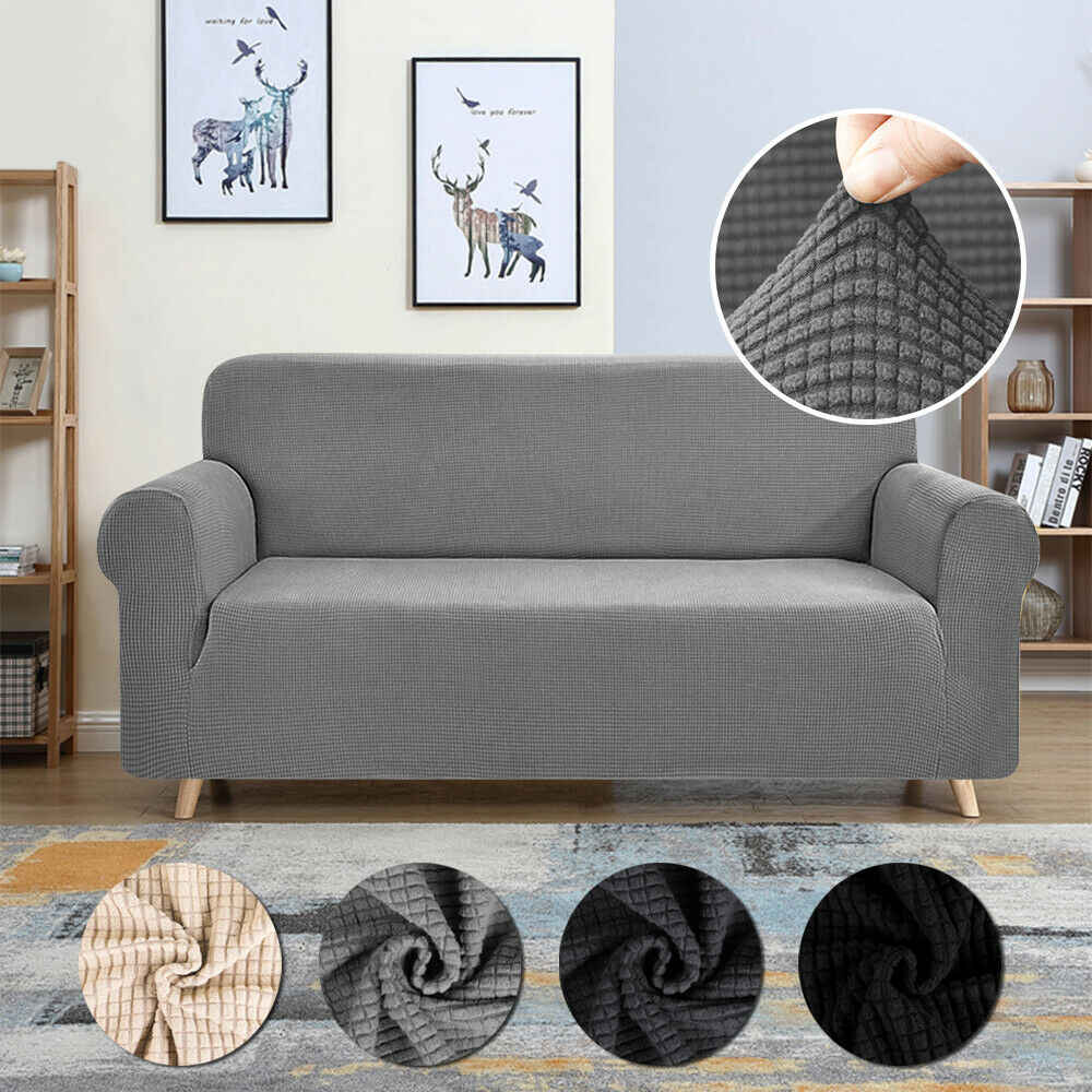 1 2 3 4 Seat Sofa Cover Universal Couch